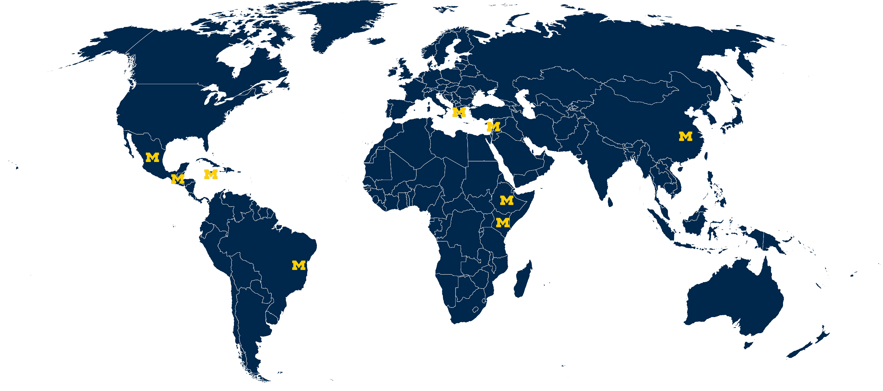 global initiatives map